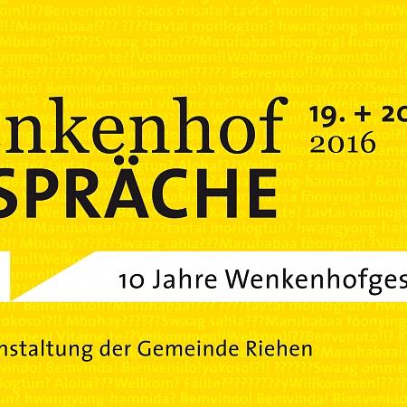 Wenkenhofgespräche 2016
