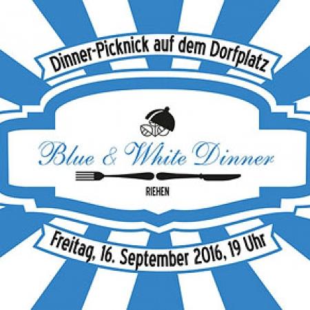 Blue & White Dinner