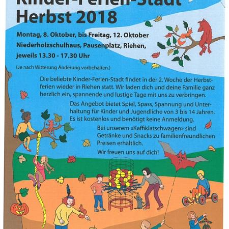 Robi-Spiel-Aktionen - Kinderferienstadt